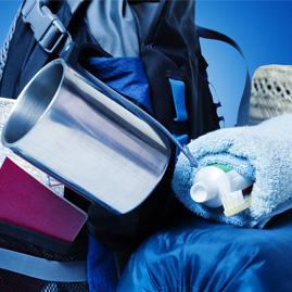 Matériel de camping pour l'hygiène
