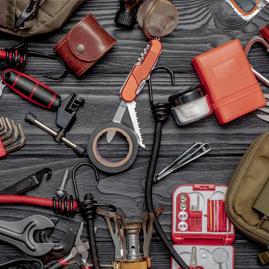 accessoires à emporter en camping